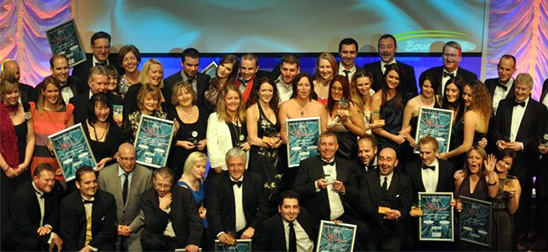 Winners of the Bournemouth Tourism Awards 2011